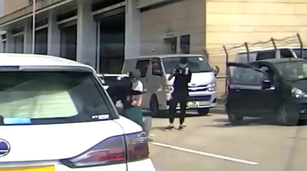 【车Cam片段】邝俊宇遭3名歹徒埋伏围殴
