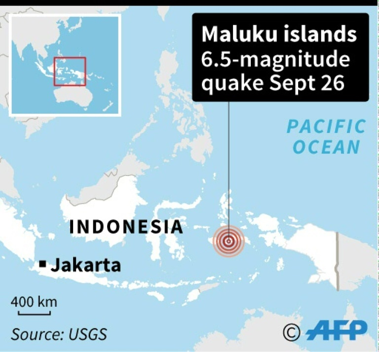 Strong 6.5 magnitude quake strikes eastern Indonesia: USGS