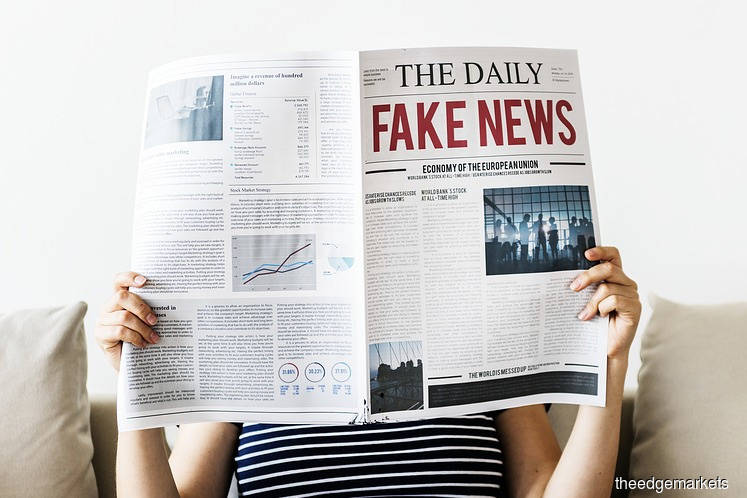 Fake news still making its rounds