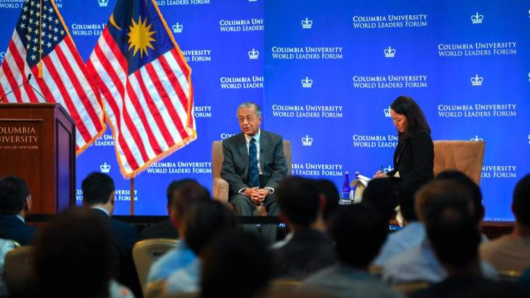 Mahathir points out UN weakness at forum