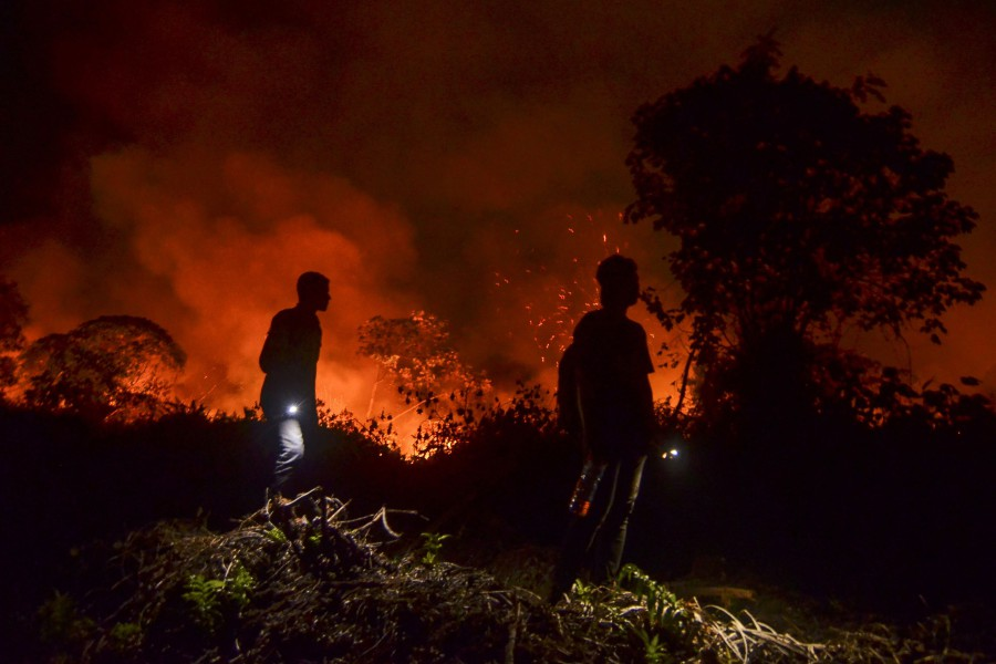 World can do nothing to stop forest fires, laments Mahathir