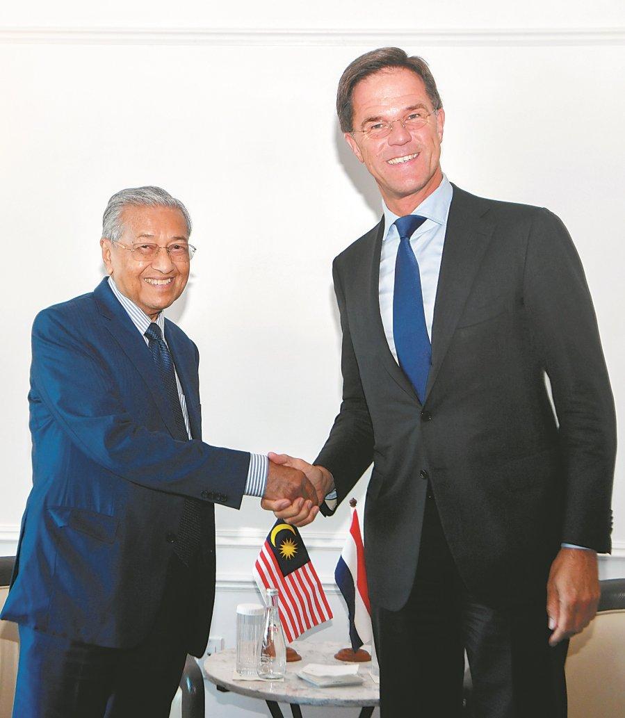 敦马与荷兰总理会谈顺利