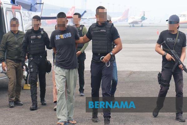 Report: Cops arrest terror suspects, including in Sarawak