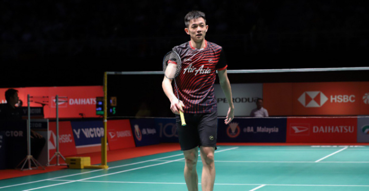 Another M'sian badminton athlete beats Lin Dan