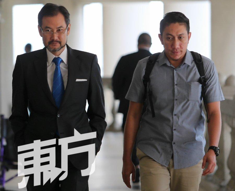 【1MDB世纪审讯】刘特佐要求保管沙地王室4支票