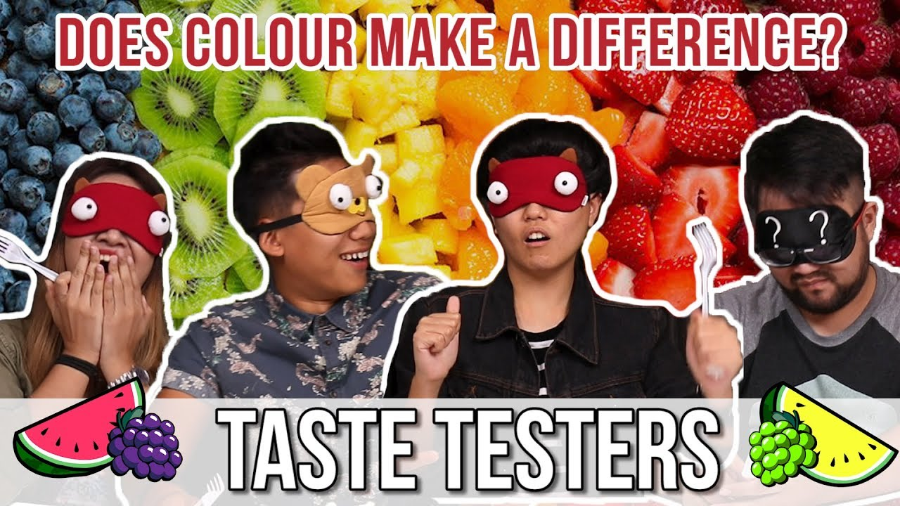 Does Colour Make a Difference?   Taste Testers   EP 21