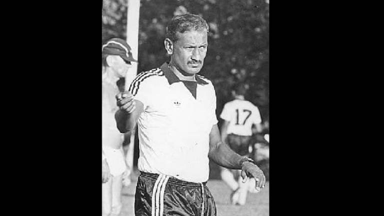 Former national football captain Datuk M. Chandran has died, aged 77
