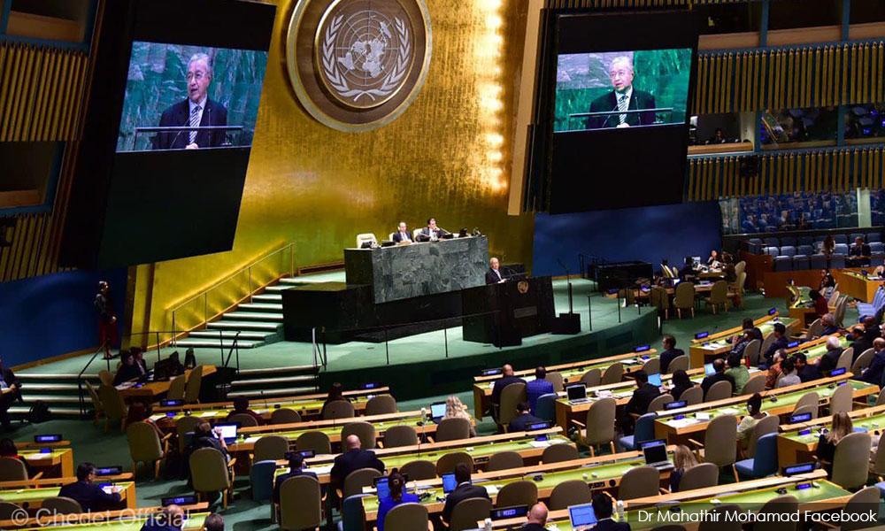 At UN, Dr M hits at pro-democracy powers clinging to anti-democratic vetos