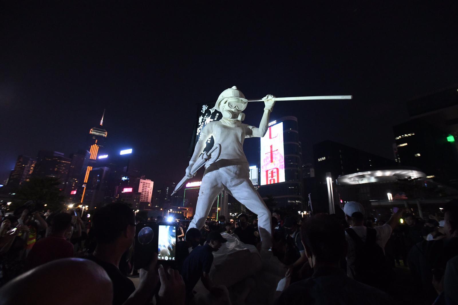 【修例风波】民阵:添马公园集会提早结束 料20至30万人参与