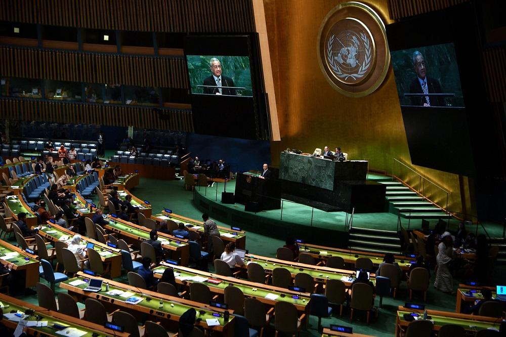 Dr M: Veto power totally undemocratic, crippling UN