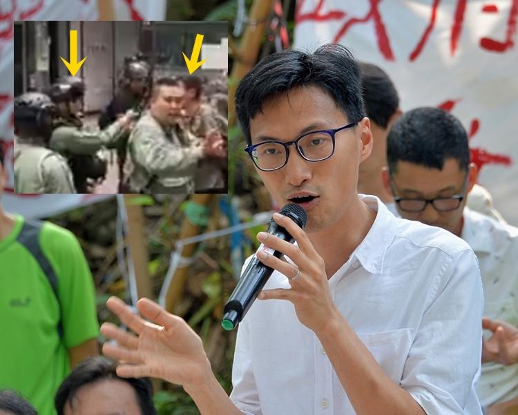 【修例风波】被警员喷胡椒 朱凯廸向卢伟聪发律师信
