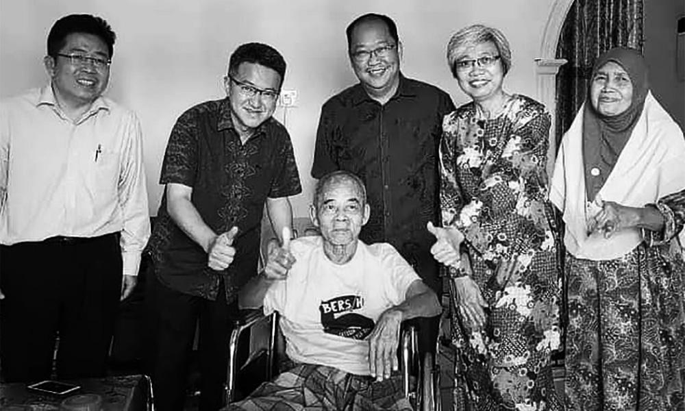 前行动党柔州主席阿末顿逝世,享年70岁