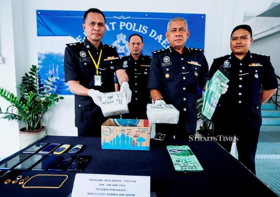 Syabu worth RM140,000 seized, 3 arrested in PJ