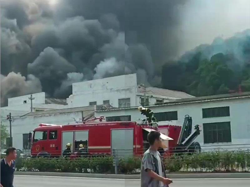 浙江宁海县日用品工厂发生火灾 已致19人死亡