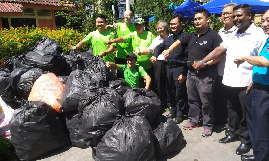 'Trash Free Hill' volunteers swell to almost double in number