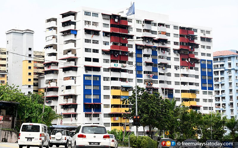 Live-in police at KL public housing projects