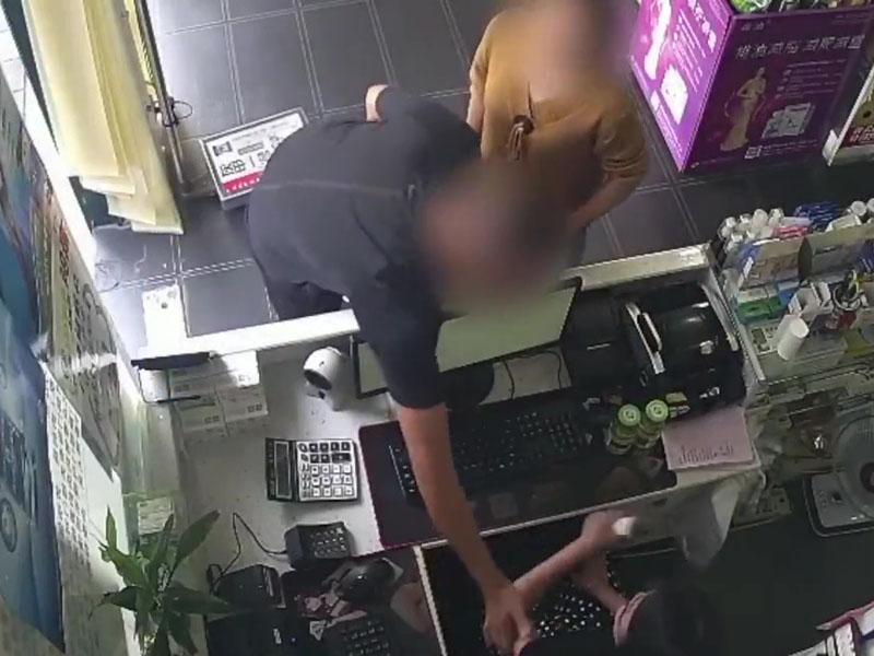 四川男女扮争付款假钞换真钱 多间商舖CCTV拍下过程