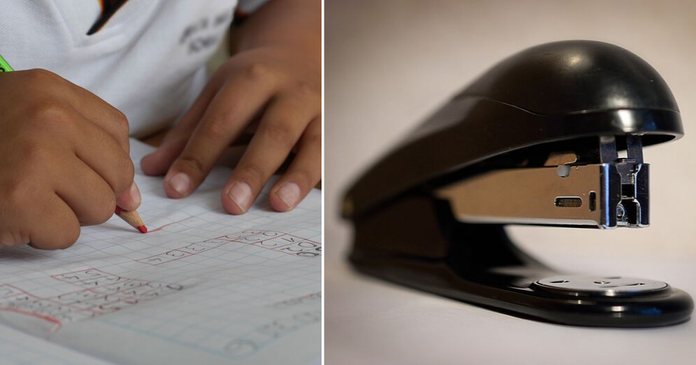 Teacher in M'sia allegedly staples 10-year-old student's ear for not doing his homework