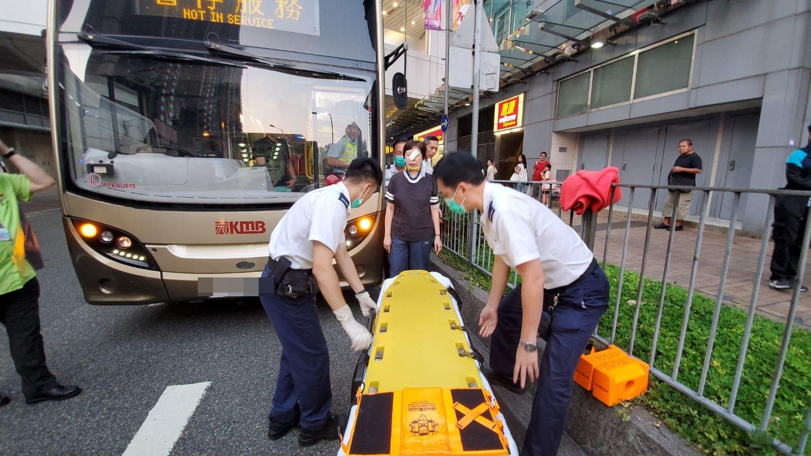 的士将军澳突切缐致九巴急停 两女乘客受伤送院