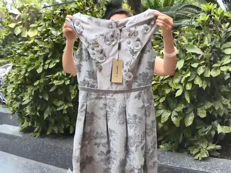 杭州女花逾万元买的裙 竟无乾洗店愿接单
