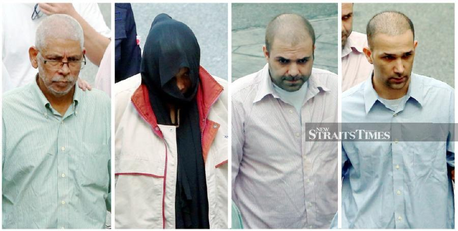 Four, including two Iranians, told to enter defence for drug charge