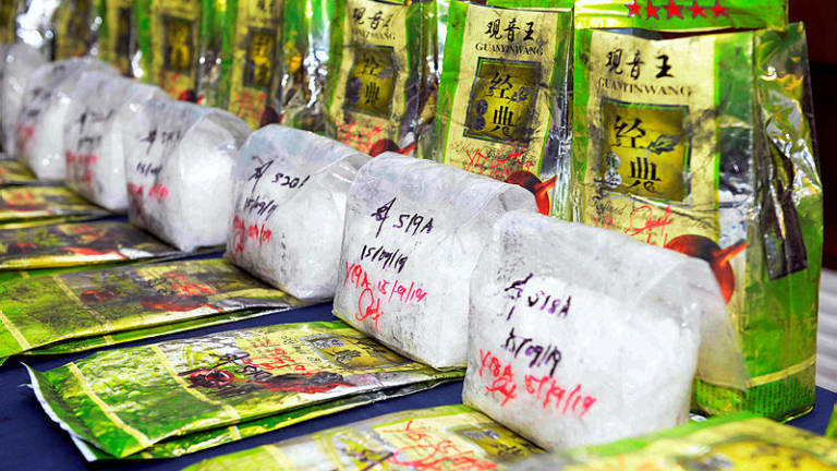 Man arrested, drugs worth RM915k seized