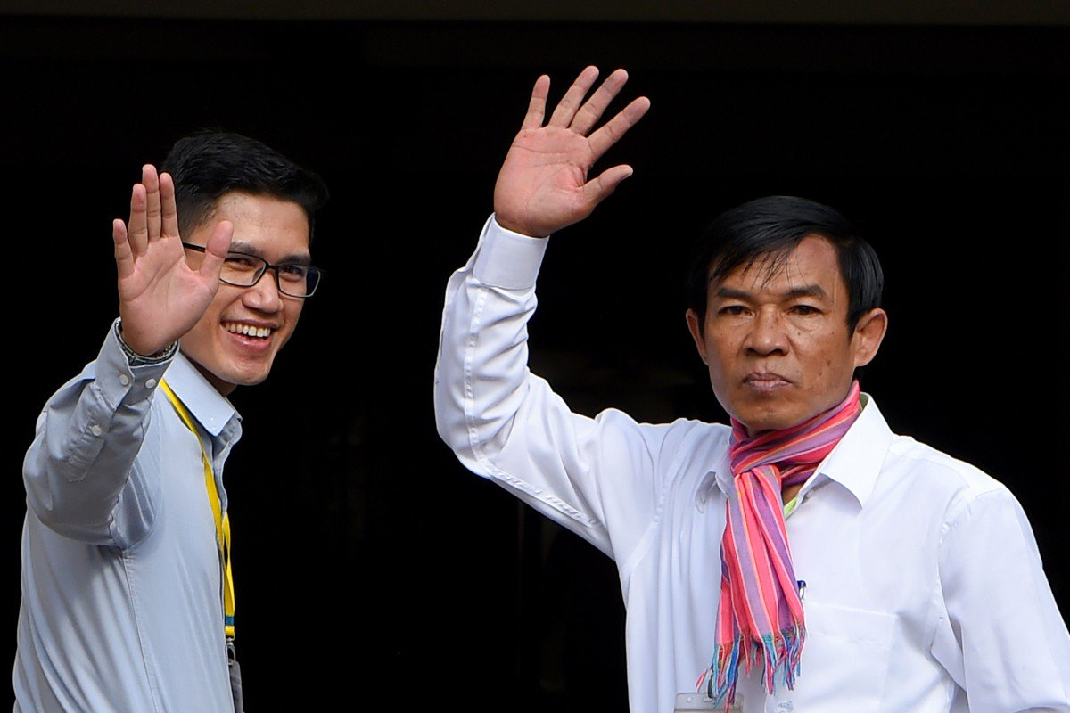 Cambodian judge orders new investigation into journalists from US-backed radio station accused of spying