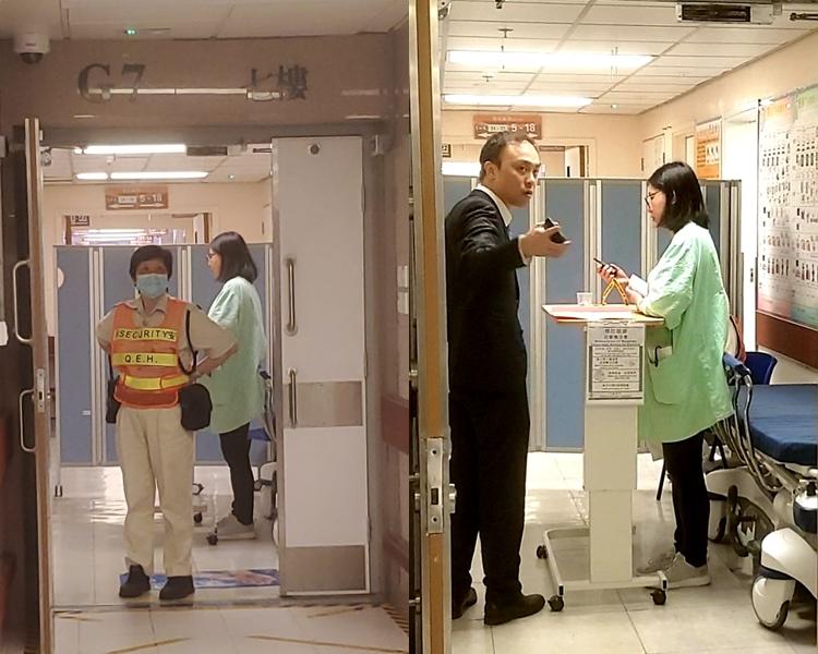 【修例风波】中枪中五生仍留医 律师再到医院探望