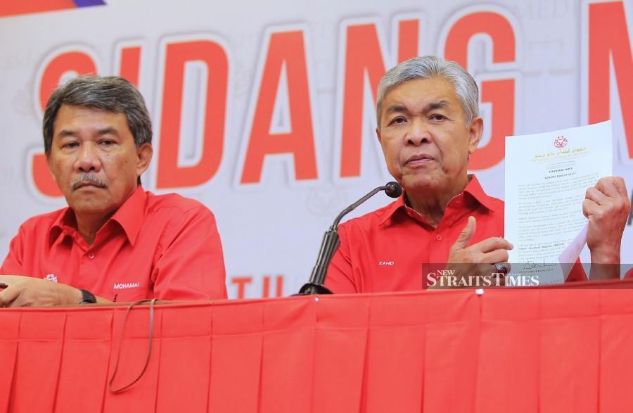 Zahid won't attend Kongres Maruah Melayu