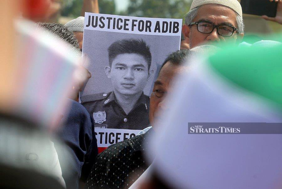 Police still waiting for AG's instructions on Adib's case