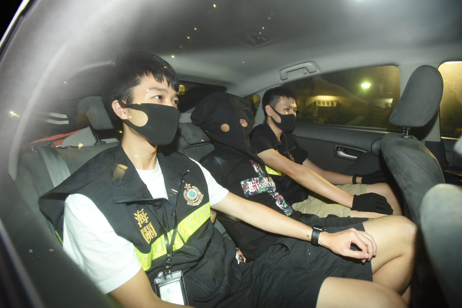 猫狗粮袋藏K仔 海关青衣拘两汉检140万货