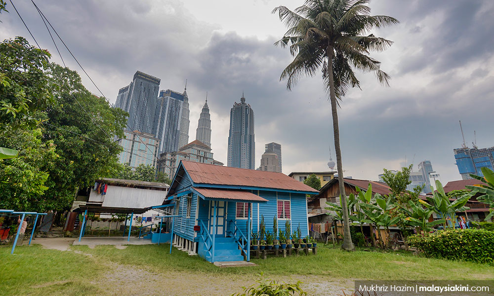 Traditional Kg Baru homes to be preserved as galleries, cafes