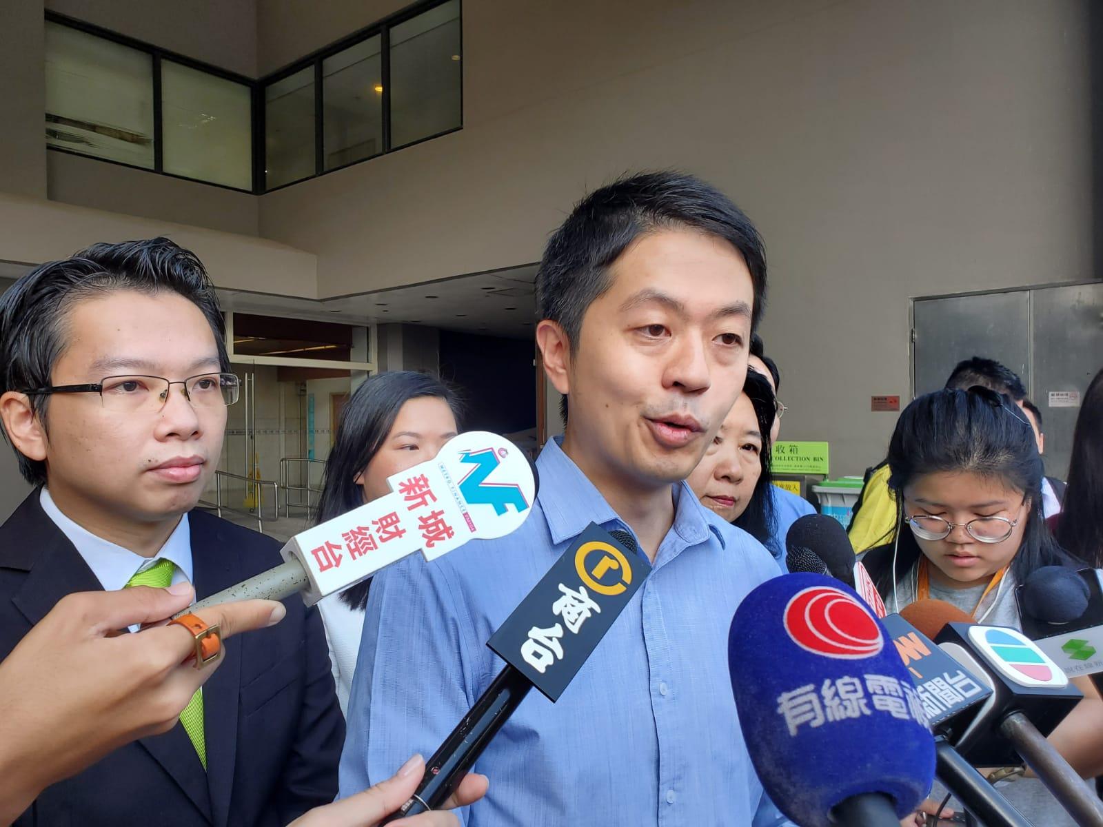 【区会选举】民主党7人参选中西区 许智峯认为有胜算