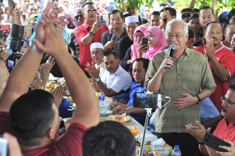 In Tanjung Piai visit ahead of polls, Najib crows that GST better than SST