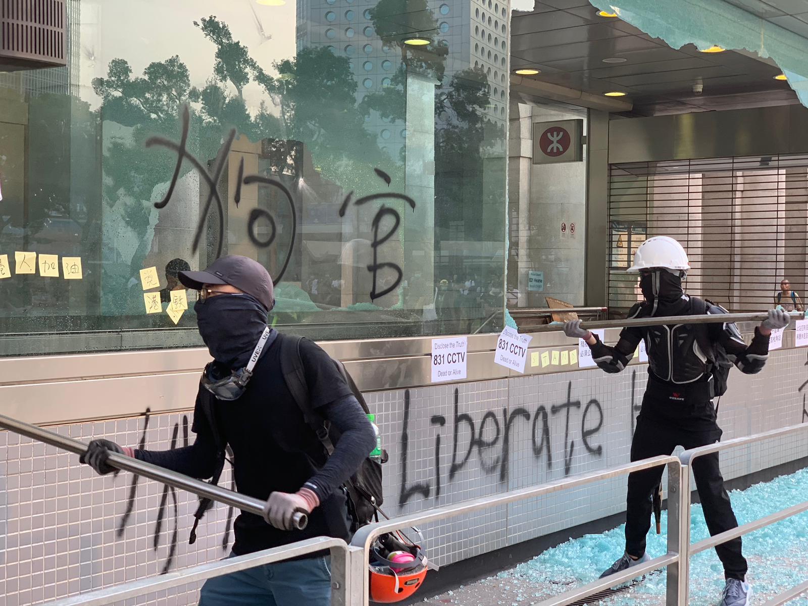 【修例风波】人权监察质疑启动紧急法立禁蒙面法