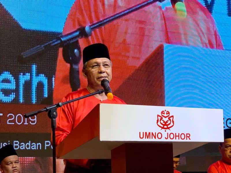 Johor Umno chief brushes aside vote sabotage rumour among its youth ranks