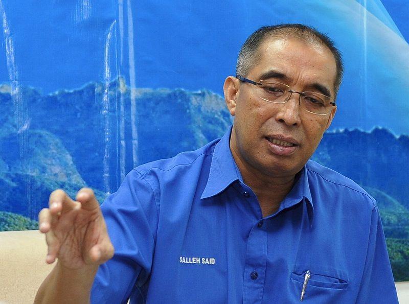 Salleh Said jumping ship? PKR says still deliberating his application