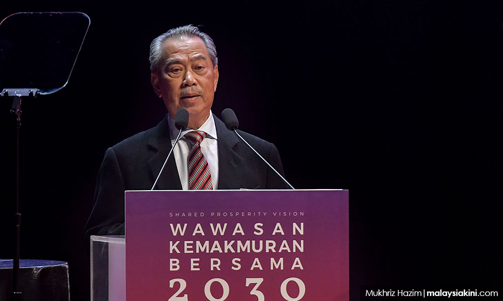 Shared Prosperity Vision takes into account more than race - Muhyiddin