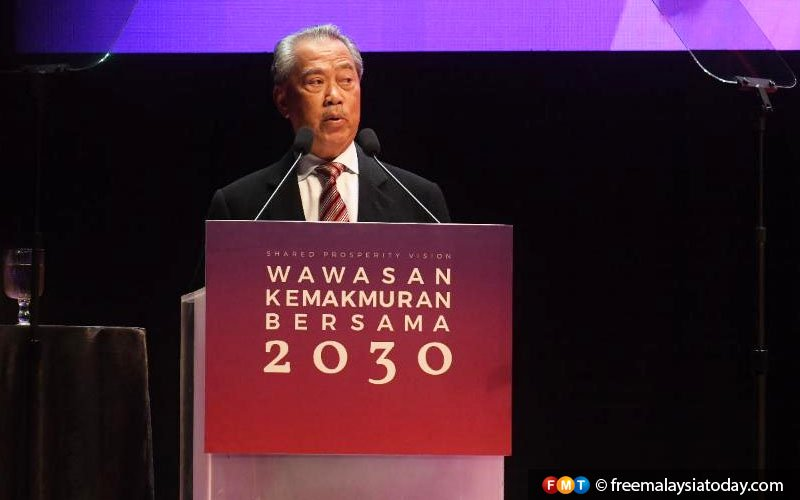 Shared Prosperity Vision will rectify past weaknesses, says Muhyiddin