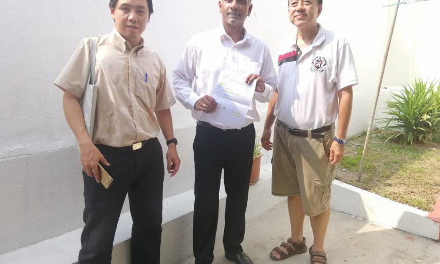 Retaining wall in Bukit Gelugor rebuilt, resident praises MP and state rep