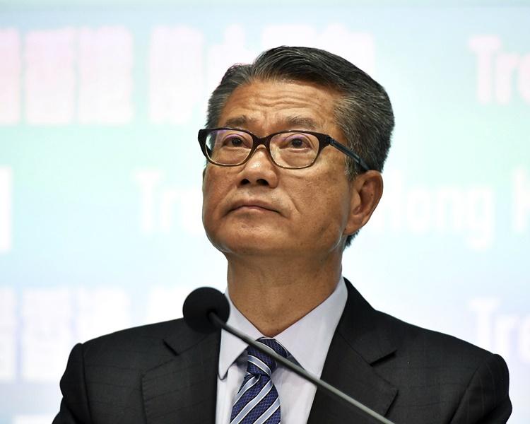 【修例风波】陈茂波重申不实施外匯管制 吁市民勿信谣言