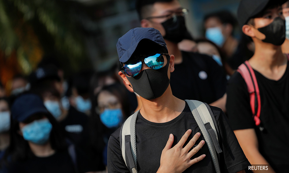 HK goes quiet as subway, shops close after night of violence