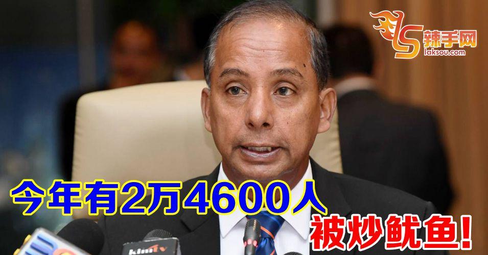 2万4600人被炒鱿鱼!