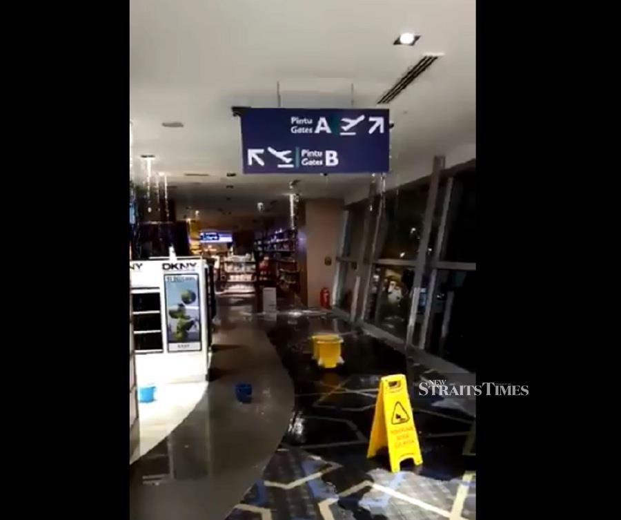 Leakage at KLIA retail outlet under control, says MAHB