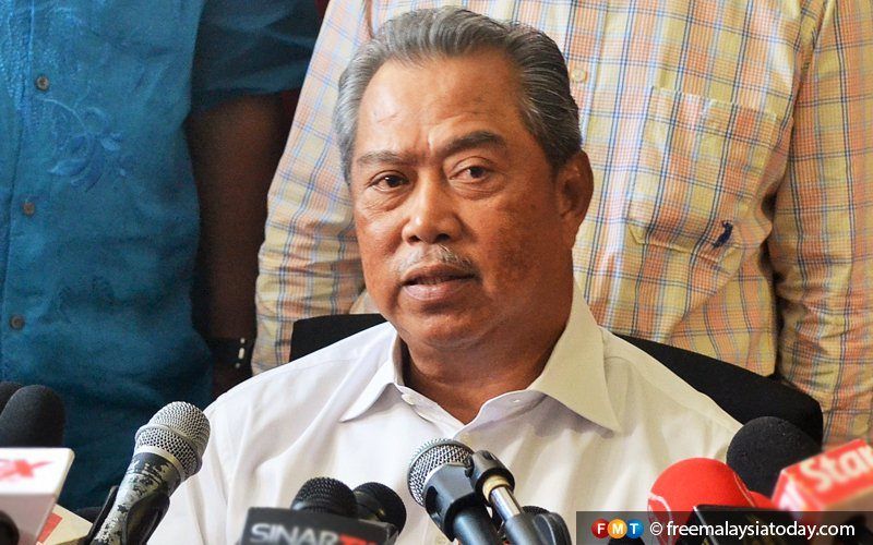 Power transition must be discussed internally by PH leaders, says Muhyiddin