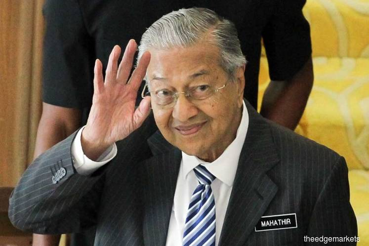 Dr Mahathir says heard about Azmin's meeting 'but don't know what they talked about'