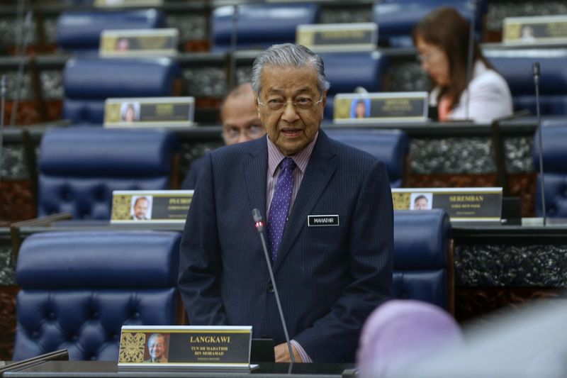 Dr M: Syed Saddiq's signal for Foodpanda snub is his personal stand