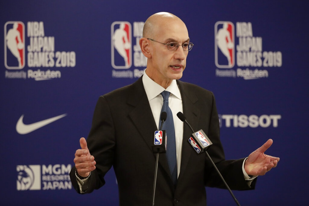 【修例风波】央视停播季前赛 NBA总裁称莫雷有言论自由拒道歉