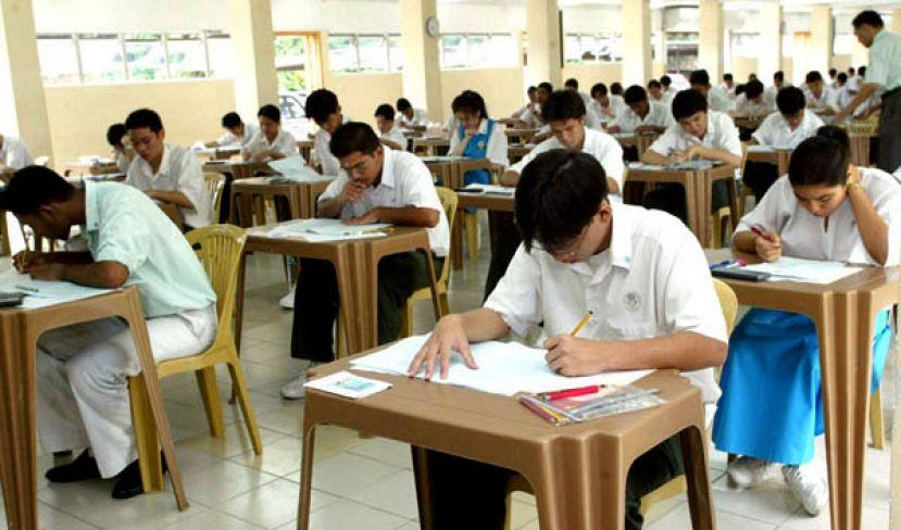 下周一SPM考试 逾41万考生应考