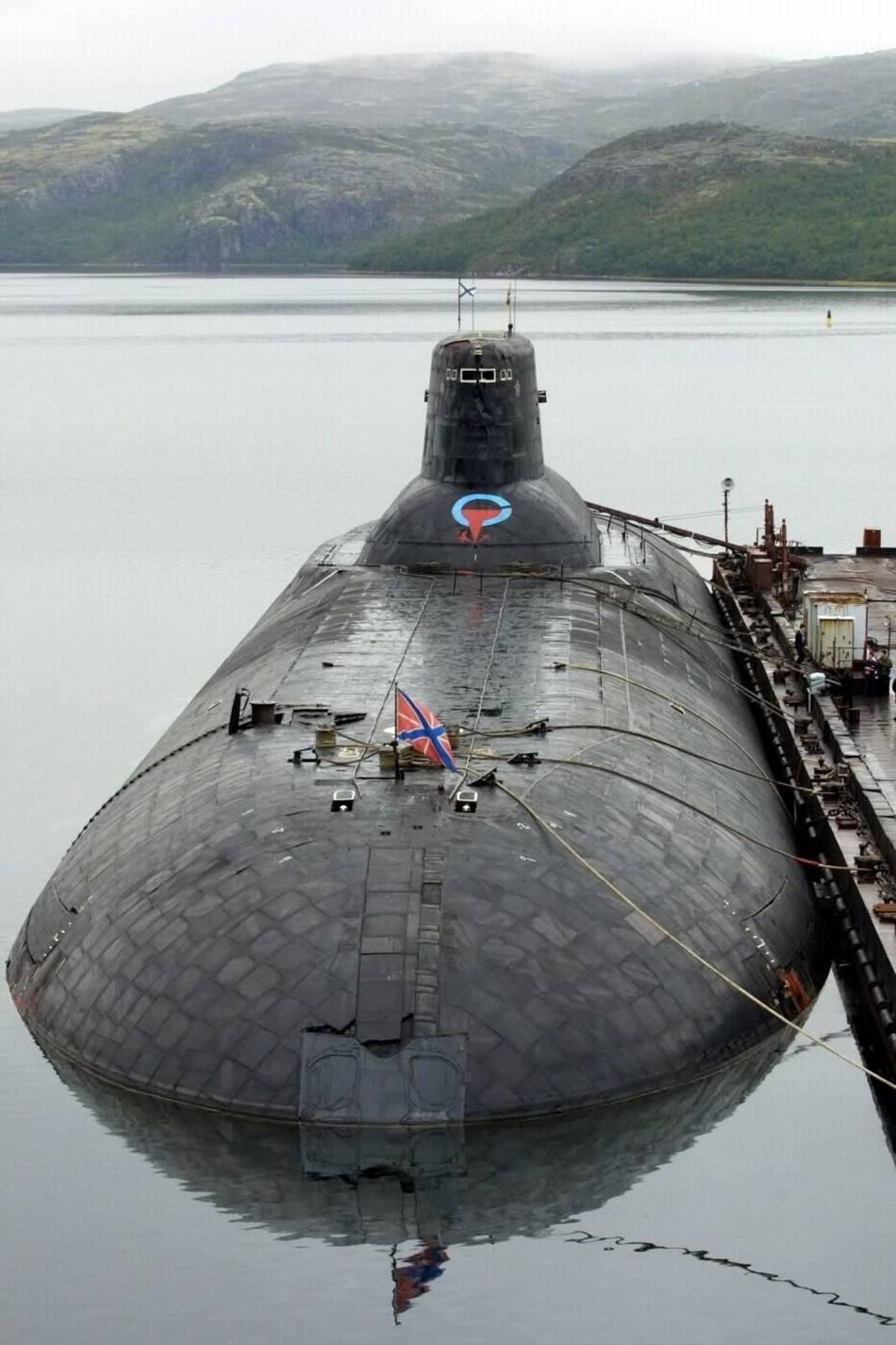 """原创 """"北风之神""""!俄海军最强核潜艇:同时也是全球最一流的战略核潜艇之一"""